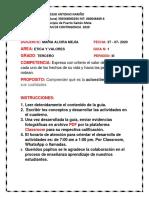 1.   PLAN DE CONTINGENCIA ETICA Y VALORES 3  PERIODO