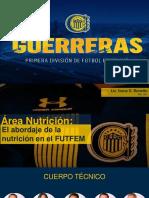 El abordaje de la nutrición en el FUTFEM
