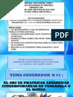 """Guia Didactica de Arte y Patrimonio """"Prácticas artisticas contemporaneas"""""""