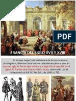 Francia siglo XVII y XVIII