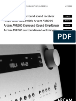 ARCAMAVR300handbook