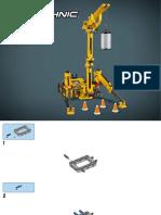 Конструктор Компактный гусеничный кран