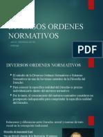 DIVERSOS ORDENES NORMATIVOS (1)