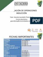 Induccion Investigación de Operaciones