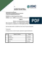 Tarea 1 Corrientes Educativas Contemporáreas