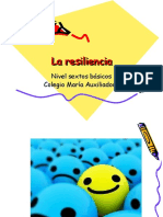 Resiliencia (PW dirigido a adolescentes)