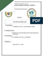 ESTUDIO DE MERCADO FPIP