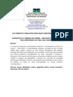 resumo - EGAL 2011 - COSMOPOLITA E URBANO NO CINEMA