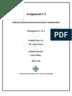 Management assimt #2