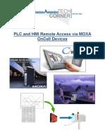 TechCorner 16 - PLC and HMI Remote Access via MOXA OnCell Devices (Tutorial)