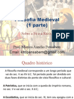 (Aula 1) Filosofia Medieval