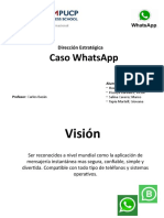 Caso WhatsApp - Huayanay Piscoya Salinas Tapia