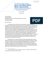 NationalAssocFreestandingMedicalCenters.2020.7.1. Letter Re COVID-19 Test Price-Gouging.he