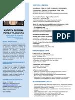 Curriculum Corto Especialista en SST y Ergonomía
