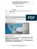 Circular No.013 PROCESO DE VISUALIZACIÓN Y DESCARGA DE BOLETIN DE NOTAS PRIMER PERIODO