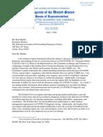 National Associate of Freestanding Emergency Centers Letter