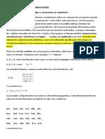 B1. ANÁLISIS COMBINATORIO 2009 Mat. I