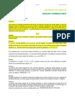 B1. Analisis Combinatorio