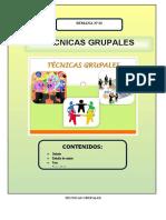 Tecnicas para el trabajo grupal