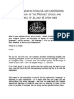 Ruling on Arab Nationalism and Undermining the Position of the Prophet PBUH