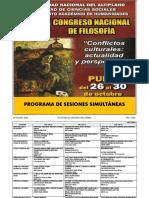 Congreso de Filosofía Puno 2015. Programa.pdf