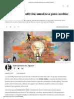 Impulsan la creatividad mexicana para cambiar el mundo.pdf