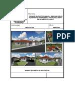MEMORIA DESCRIPTIVA - ARQUITECTURA - CS SAN CARLOS