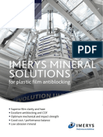 Brochure - IMERYS MINERAL SOLUTIONS for plastic film antiblocking