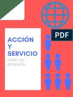 Diario de reflexión acción servicios
