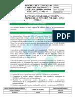 GPC PARA LA ATENCIÓN, DIAGNÓSTICO Y MANEJO DE LA INFECCIÓN POR COVID-19