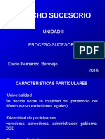 Derecho Sucesorio (Unidad II)
