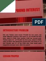 Lesson 25 Compound Interest