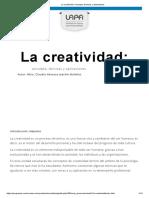 """""""La creatividad"""