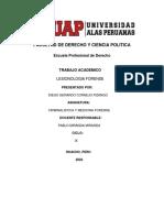 monografia de criminalistica filiarl huacho cornejo pizango