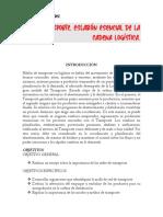 ELnTRANSPORTEnneslabnnnnesencialndenlancadenanlognnstica TECNOLOGO GESTION LOGISTICA