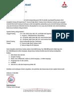 surat Undangan training SMK  Jateng tahun 2020 Training Basic and New Technology