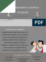 el conflicto intergrupal