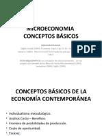 MICROECONOMIA Primera parte demanda-oferta