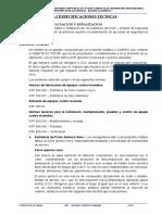 8.3.2  ESPECIFICACIONES TECNICAS  EVACUACION Y SEÑALIZACION.doc