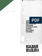 Modos de Produção e Realidade Brasileira - José Roberto do Amaral Lapa (Org.)
