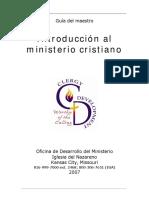 Introducción al ministerio Cristiano Maestro.pdf