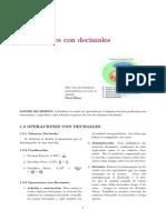 NMI SEM2-1 OPERACIONES CON NÚMEROS DECIMALES