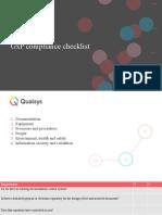 GxP Compliance Checklist.pptx