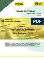 COMPENDIO DE CONTENIDOS-UNIDAD 1