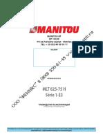 Manual MLT 625-75 H