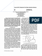A novel direct torque control (DTC) method for five-phase induction machines