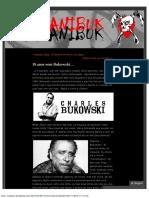 18 anos sem Bukowski… « Canibuk