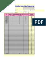 (8) Polarization Index Value Measurement (1.1.19).xls
