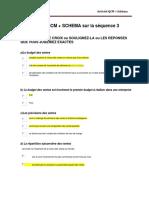 activité 3.1 QCM et schema GDBCB