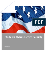 DHS Study on Mobile Device Security